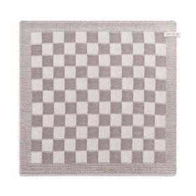 Kitchen Towel Block Ecru/Taupe