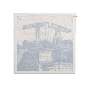 Kitchen Towel Bridge Ecru/Light Grey