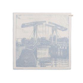 Kitchen Towel Bridge Ecru/Light Grey