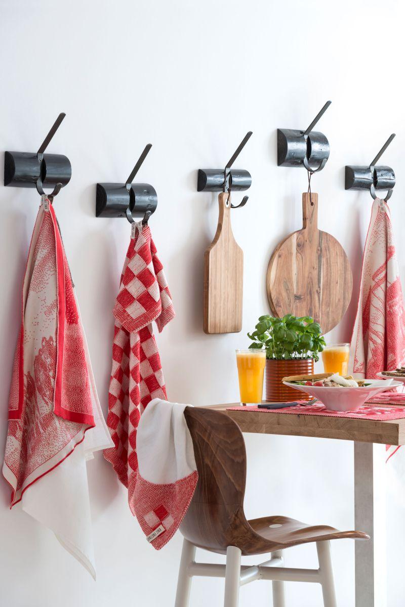 kitchen towel bridge ecrured