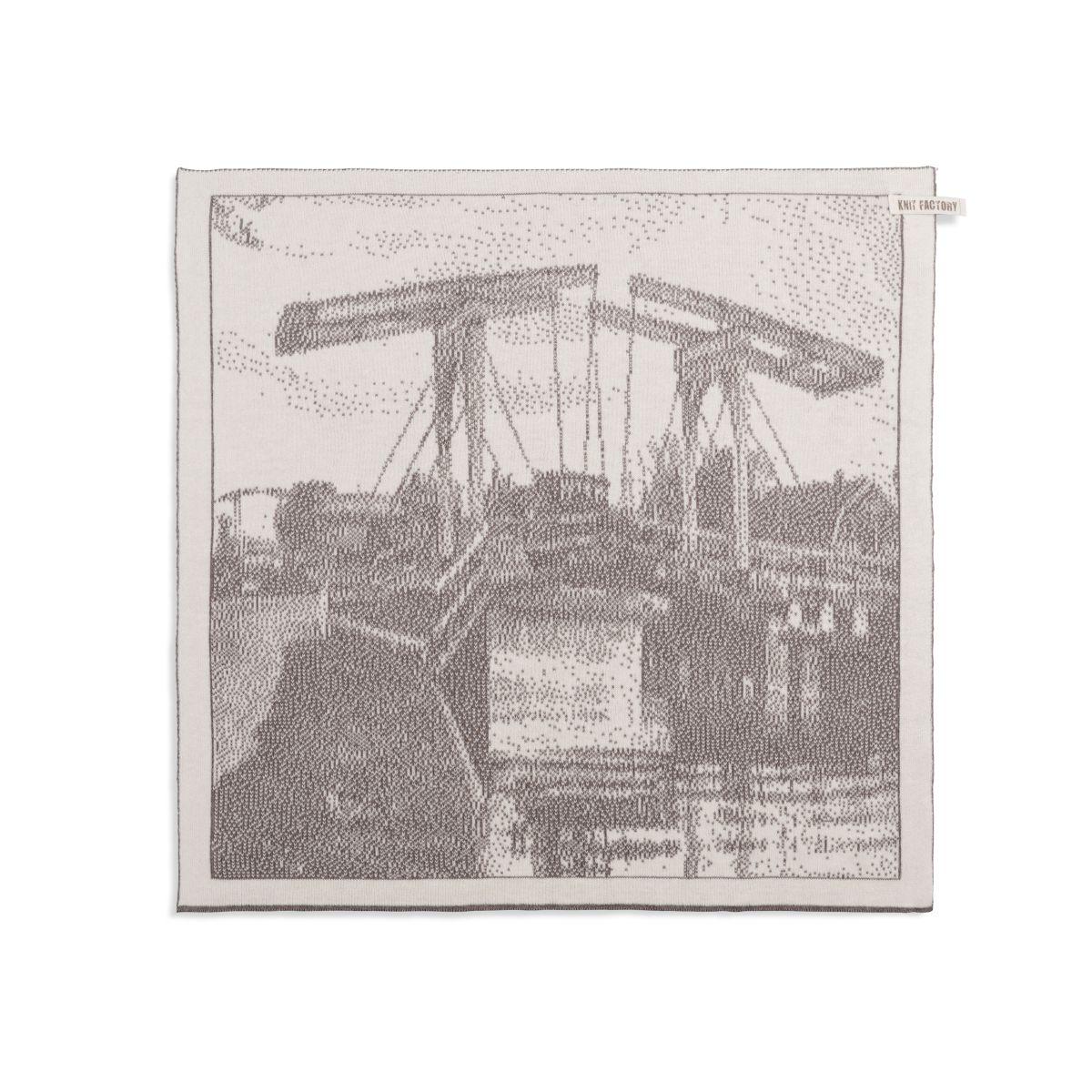kitchen towel bridge ecrutaupe