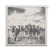 Kitchen Towel Cows Ecru/Anthracite
