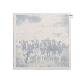 Kitchen Towel Cows Ecru/Light Grey