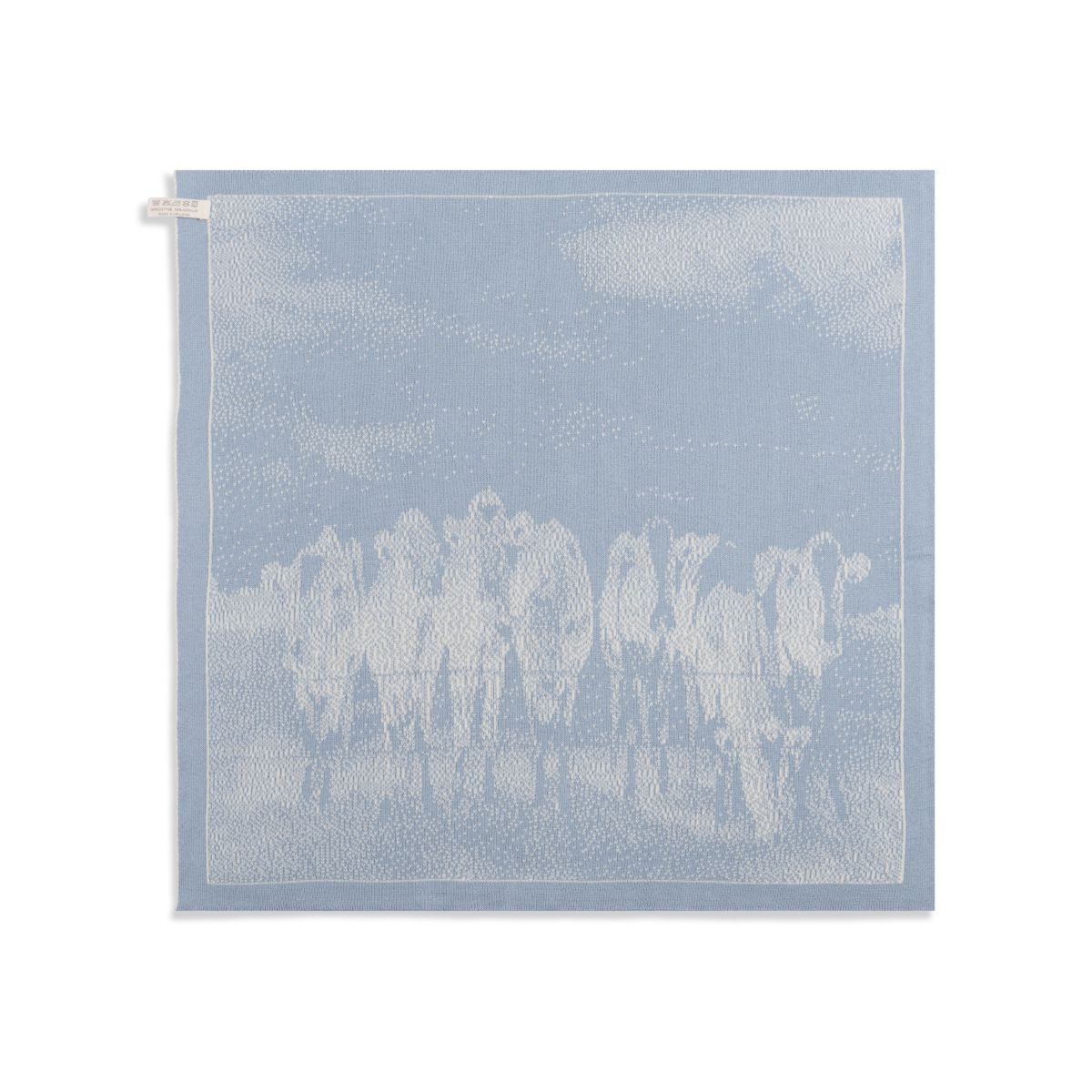 kitchen towel cows ecrulight grey