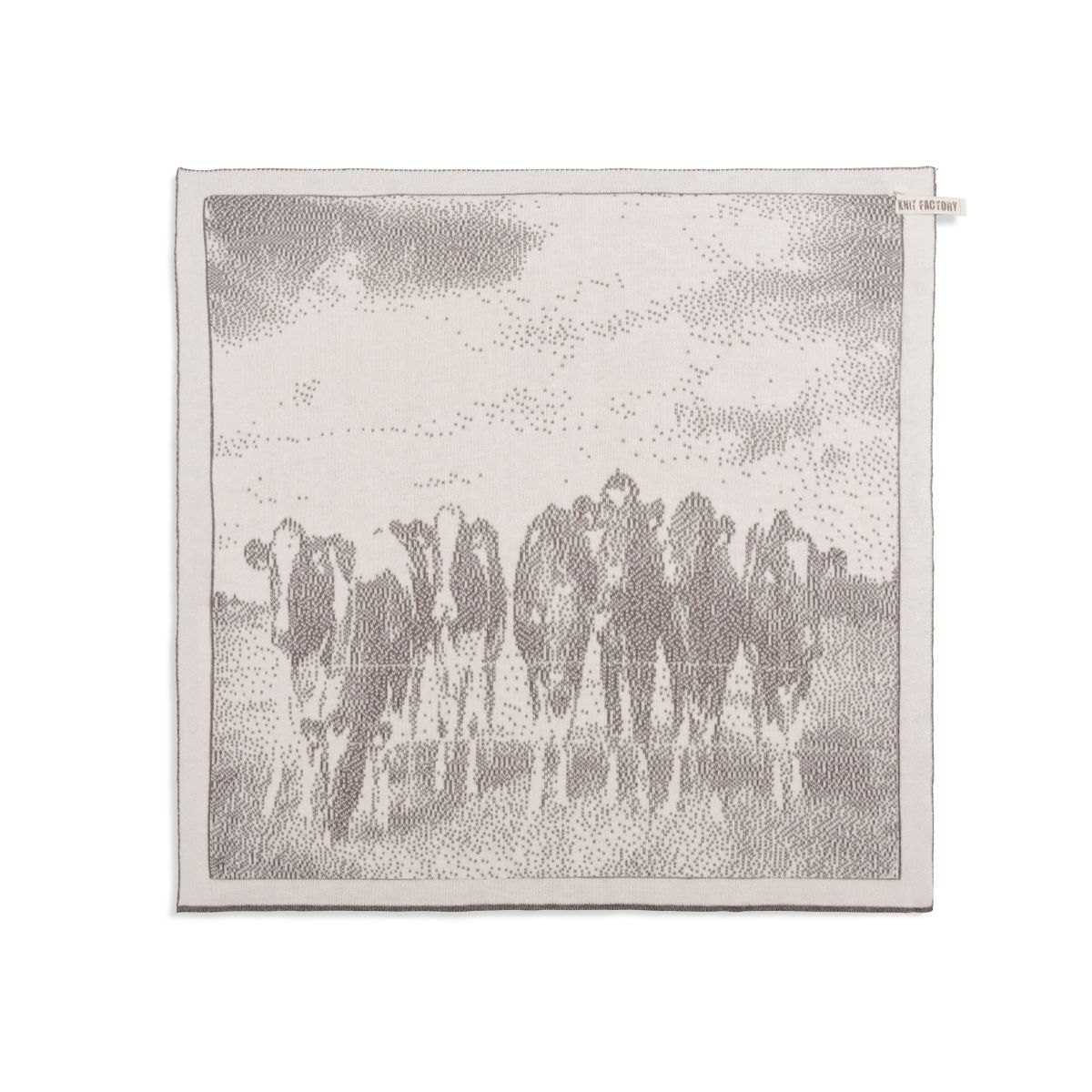 kitchen towel cows ecrutaupe