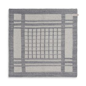 Kitchen Towel Emma Ecru/Med Grey