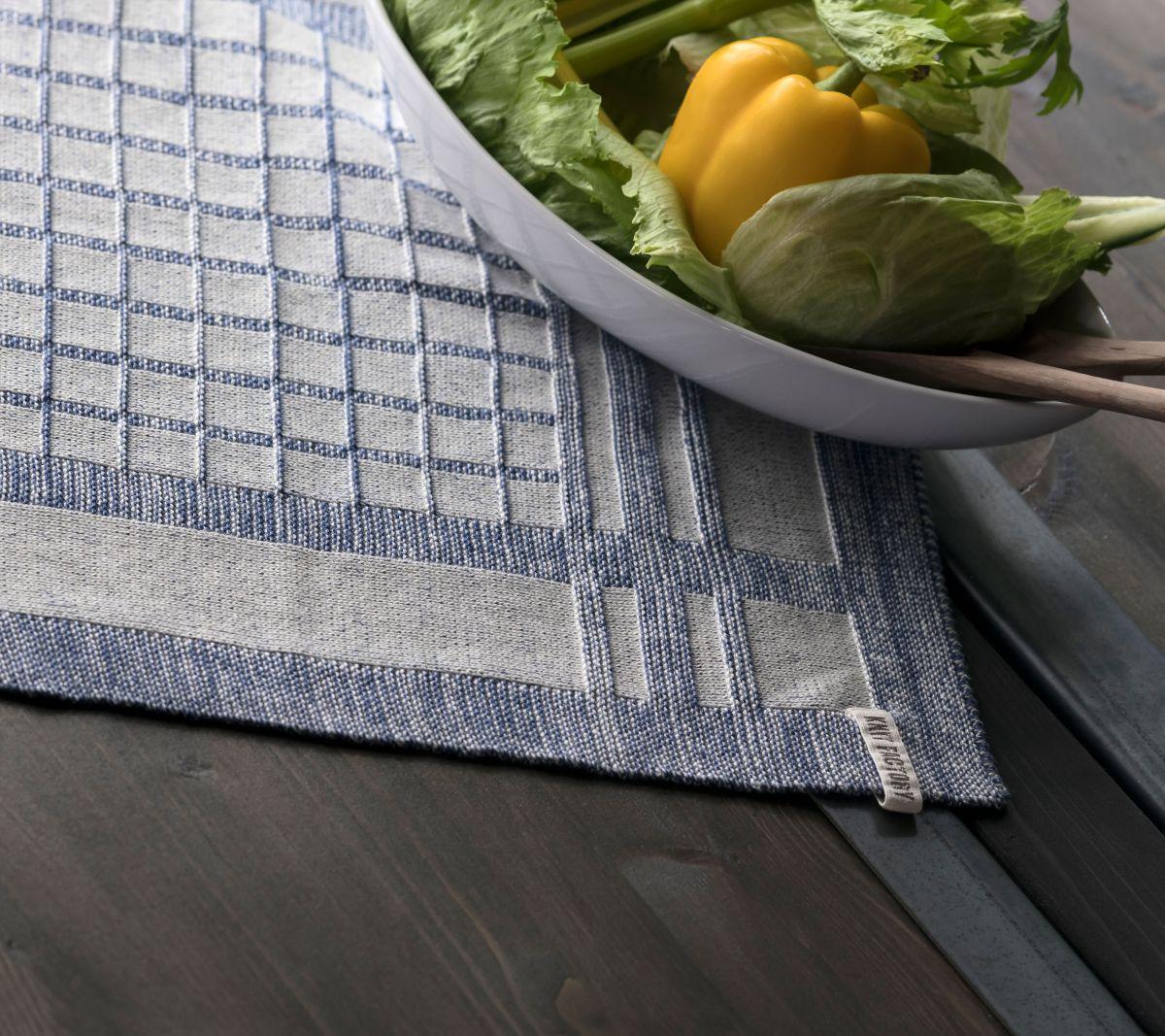 kitchen towel emma ecrustone green