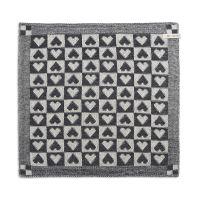 Kitchen Towel Heart Ecru/Anthracite