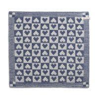 Kitchen Towel Heart Ecru/Jeans