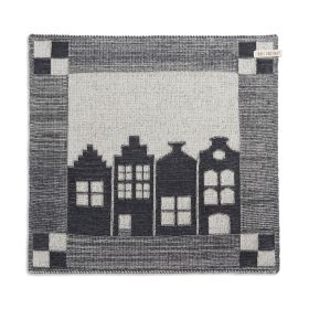 Kitchen Towel House Ecru/Anthracite