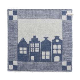 Kitchen Towel House Ecru/Jeans