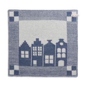 Kitchen Towel House Ecru/Jeans