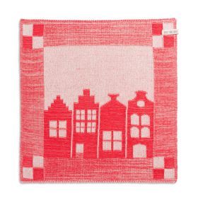 Kitchen Towel House Ecru/Red