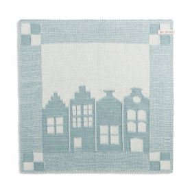 Kitchen Towel House Ecru/Stone Green