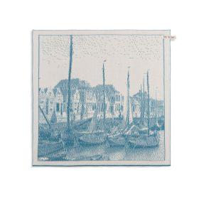 Kitchen Towel Port Ecru/Ocean