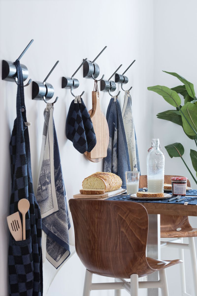 kitchen towel port ecrustone green