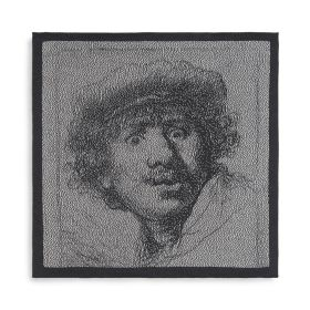Kitchen Towel Rembrandt Ecru/Anthracite