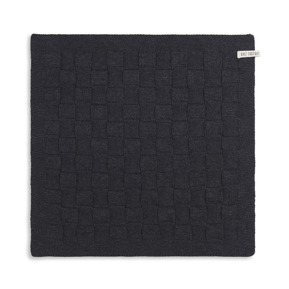 kitchen towel uni anthracite