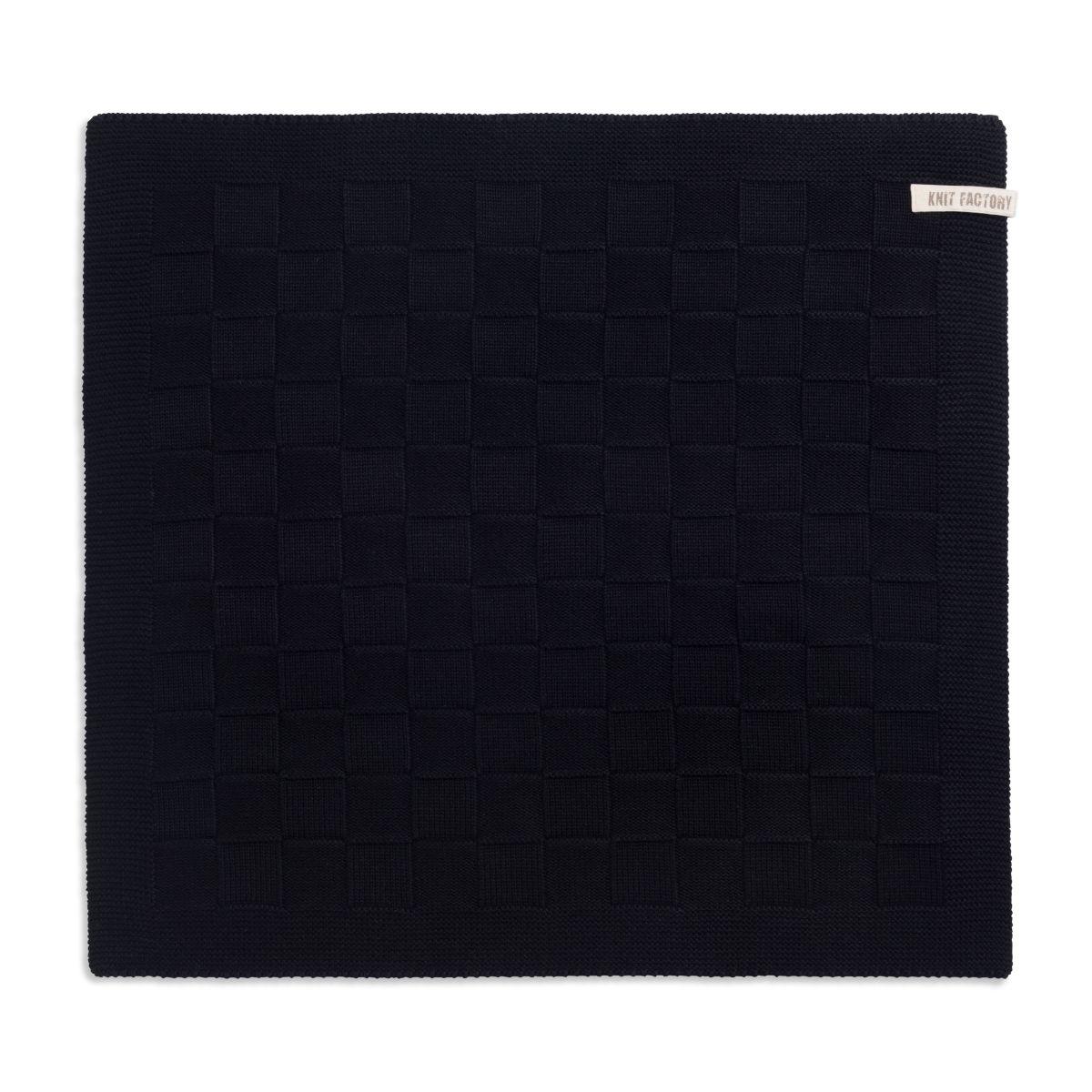 kitchen towel uni black