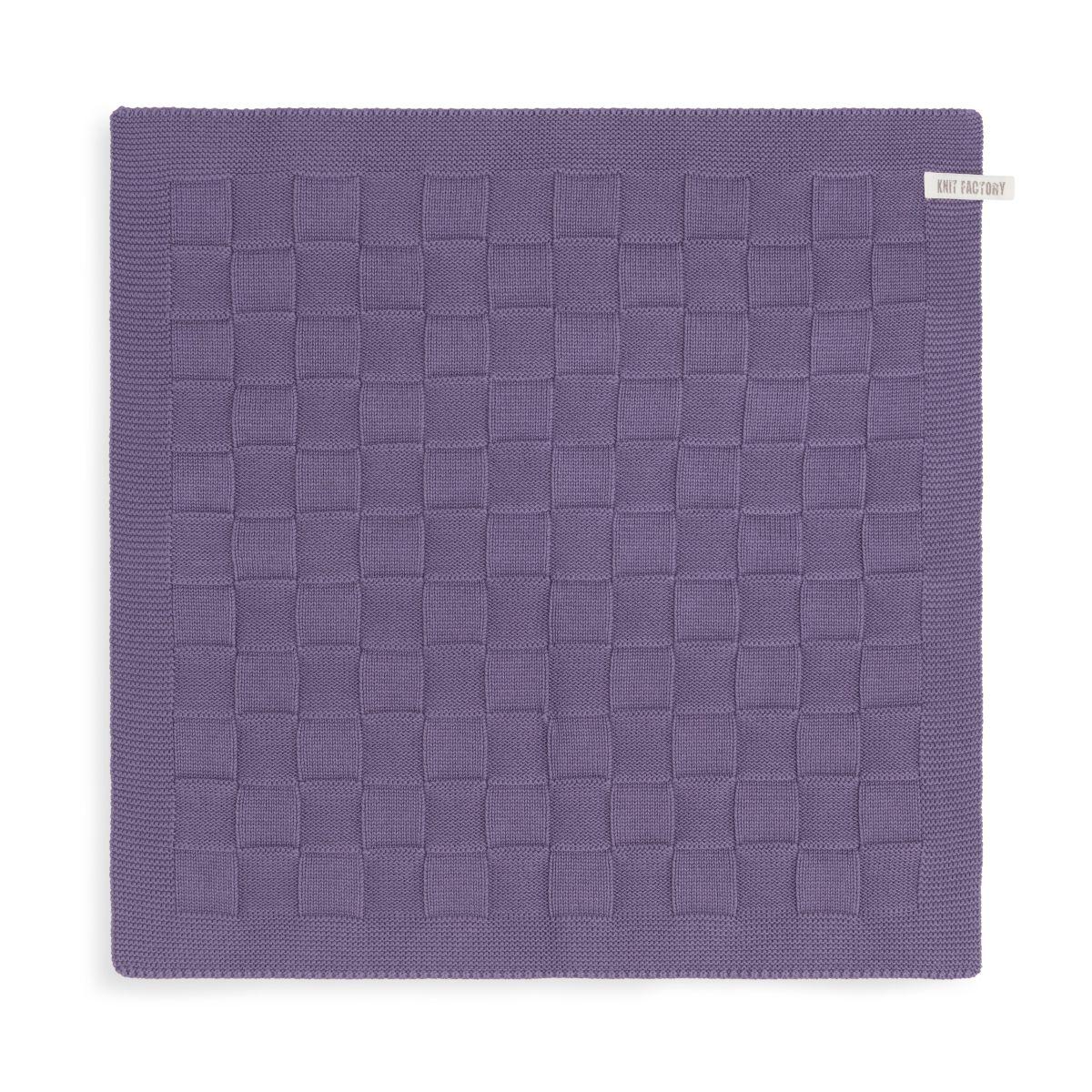 kitchen towel uni violet