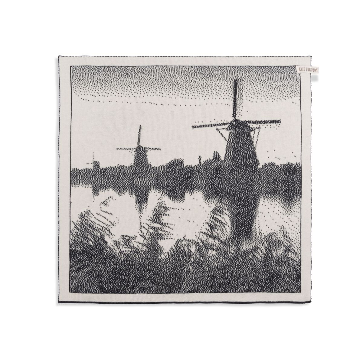 kitchen towel windmill ecruanthracite