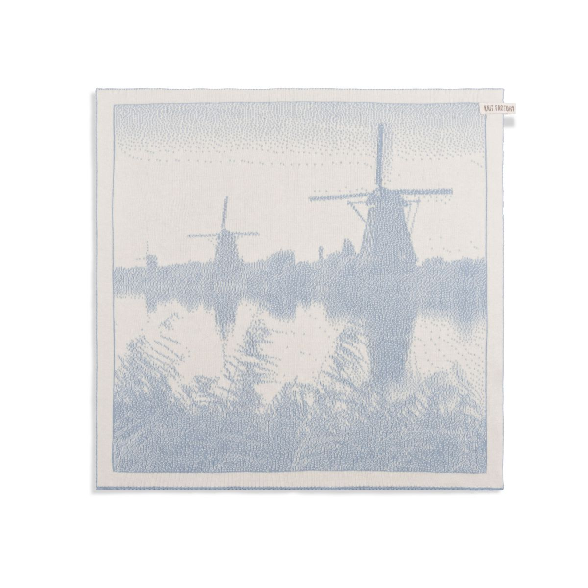 kitchen towel windmill ecrulight grey