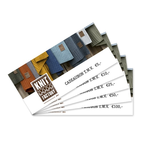 knit factory giftcard 100