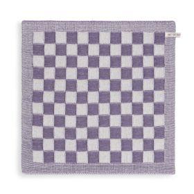 Küchentuch Block Ecru/Violett