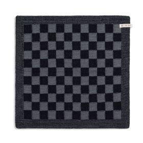 Küchentuch Block Schwarz/Med Grey
