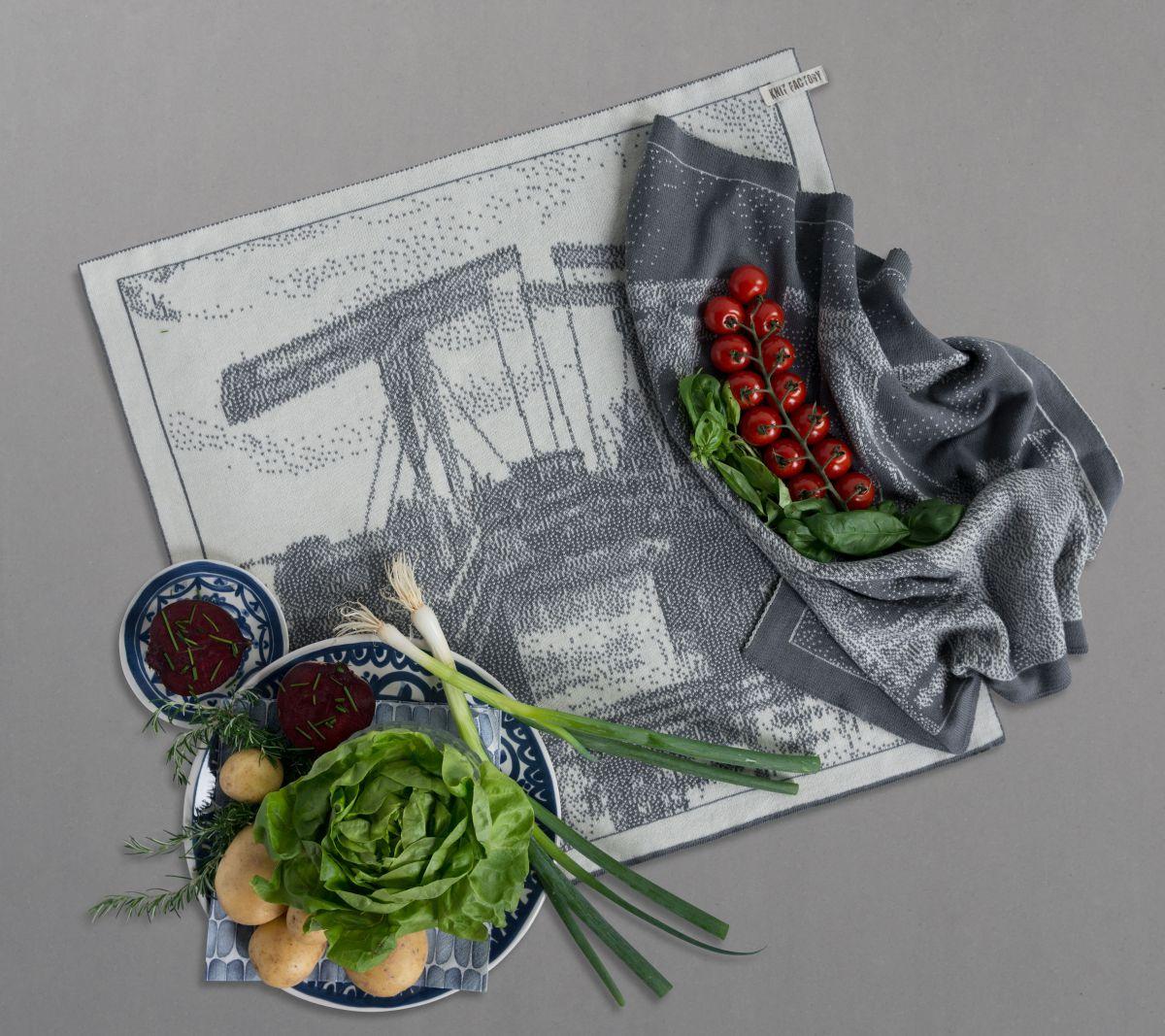 kchentuch brcke ecrumed grey