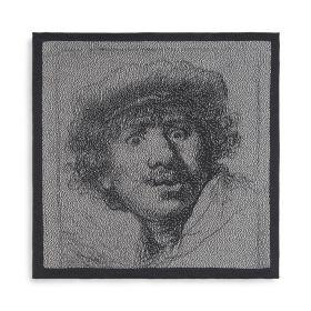 Küchentuch Rembrandt Ecru/Anthrazit