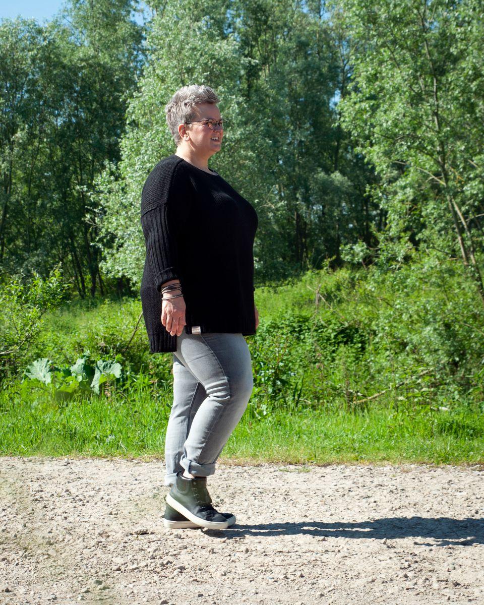 kylie trui zwart 4654