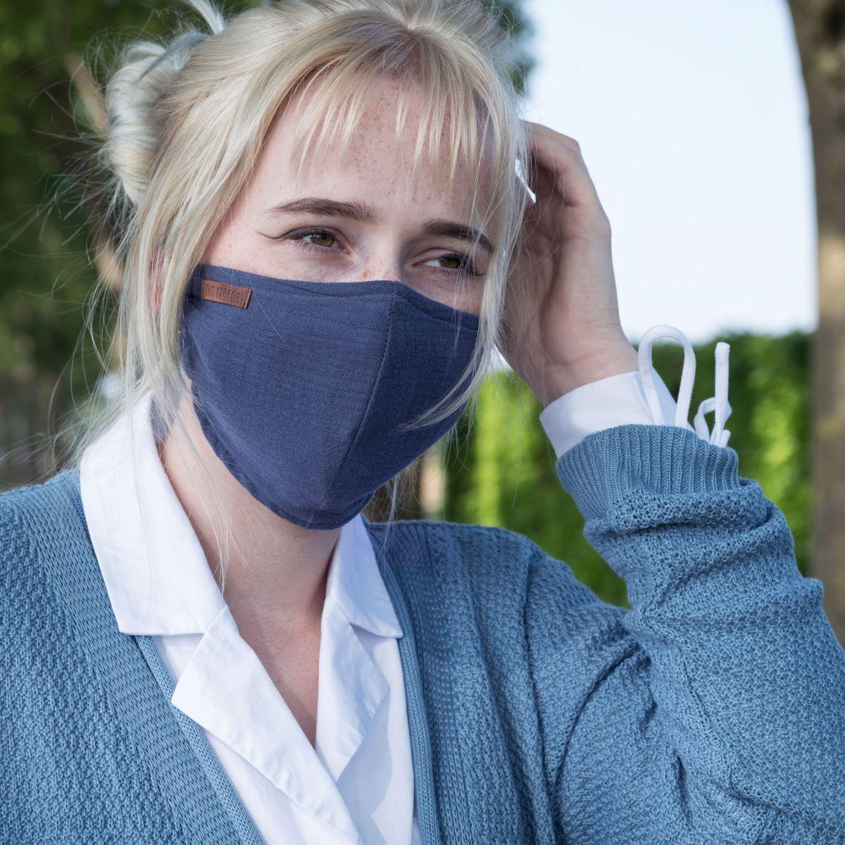 knit factory kf12810501350 liv mondmasker jeans 2