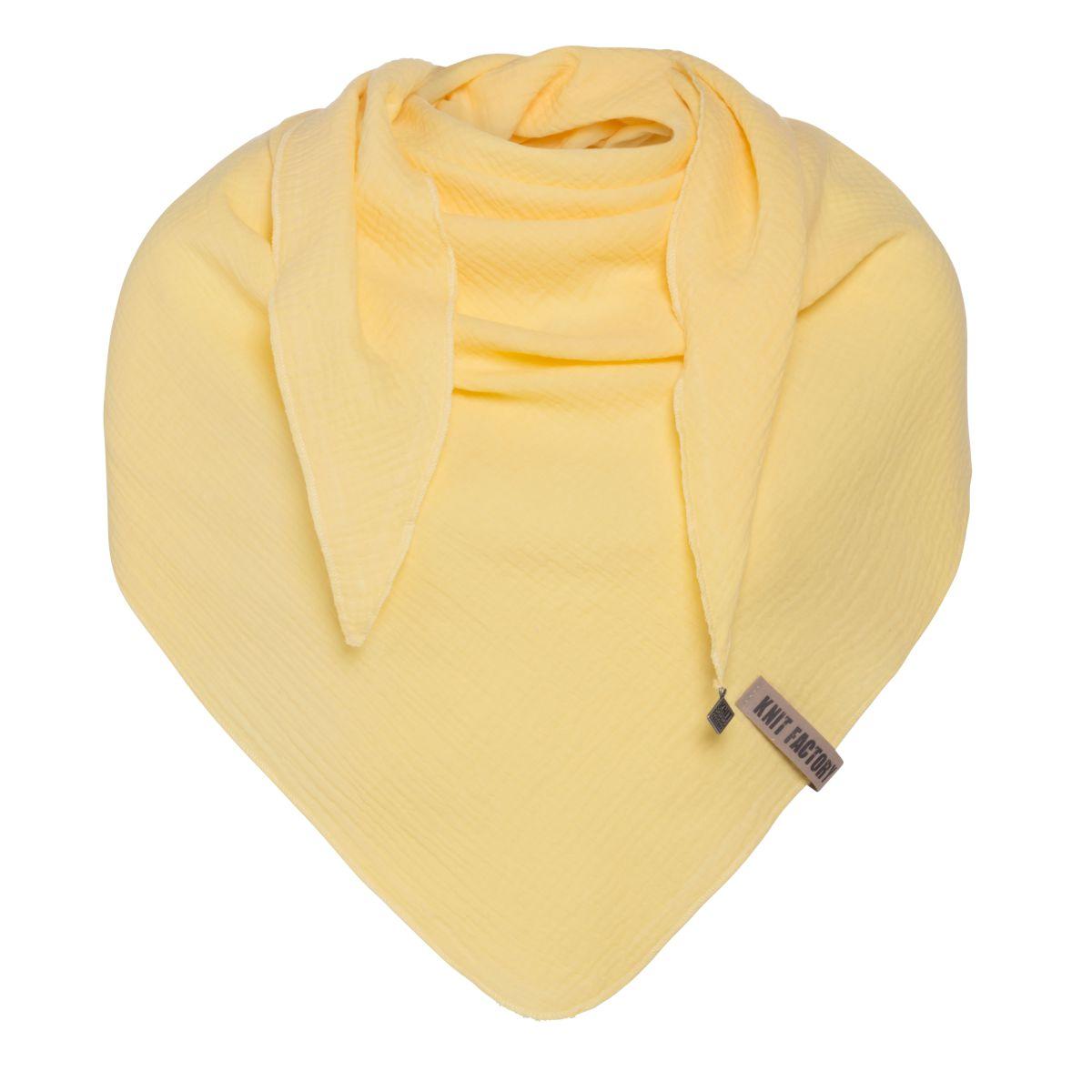 knit factory kf128060024 liv omslagdoek citrus 1
