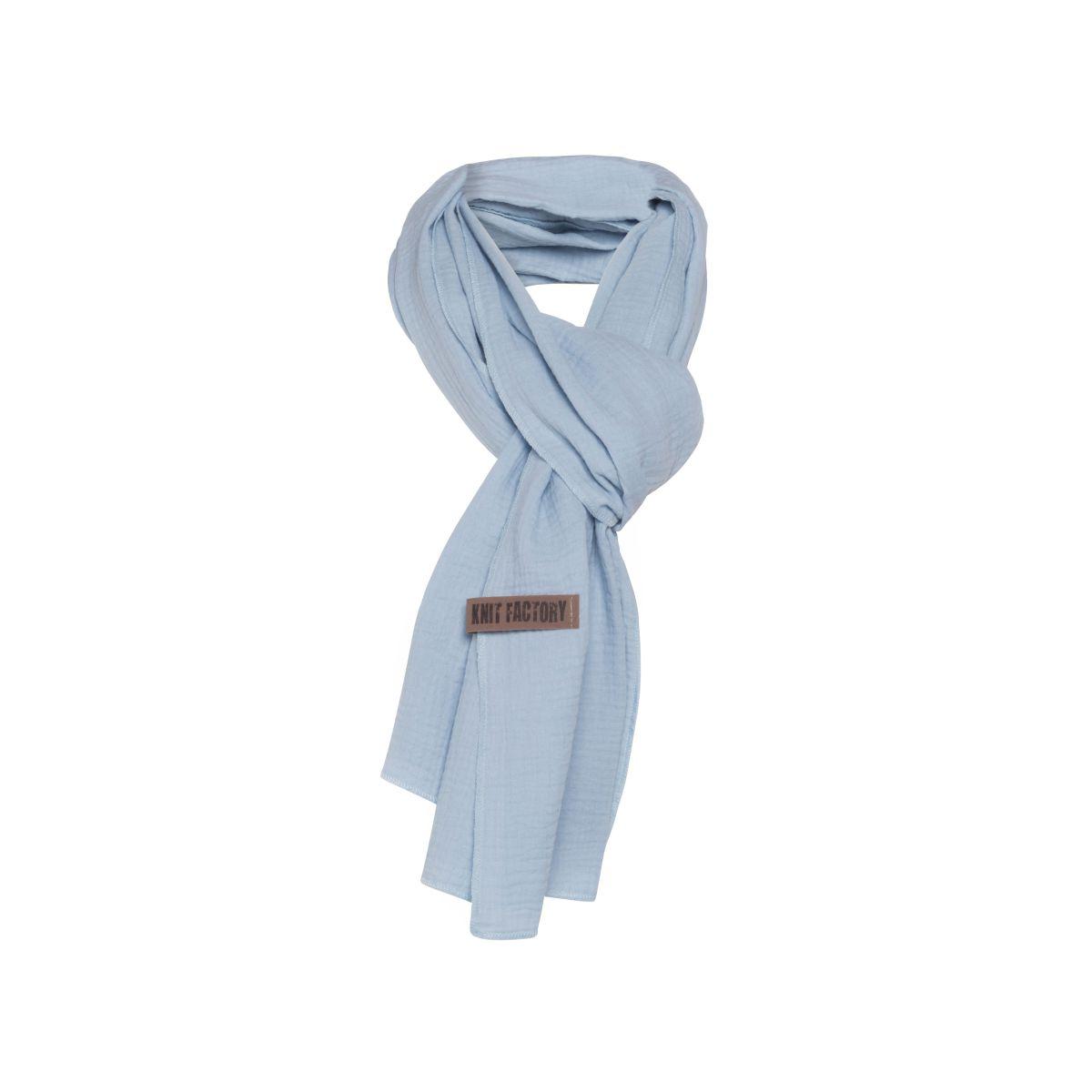 liv scarf indigo