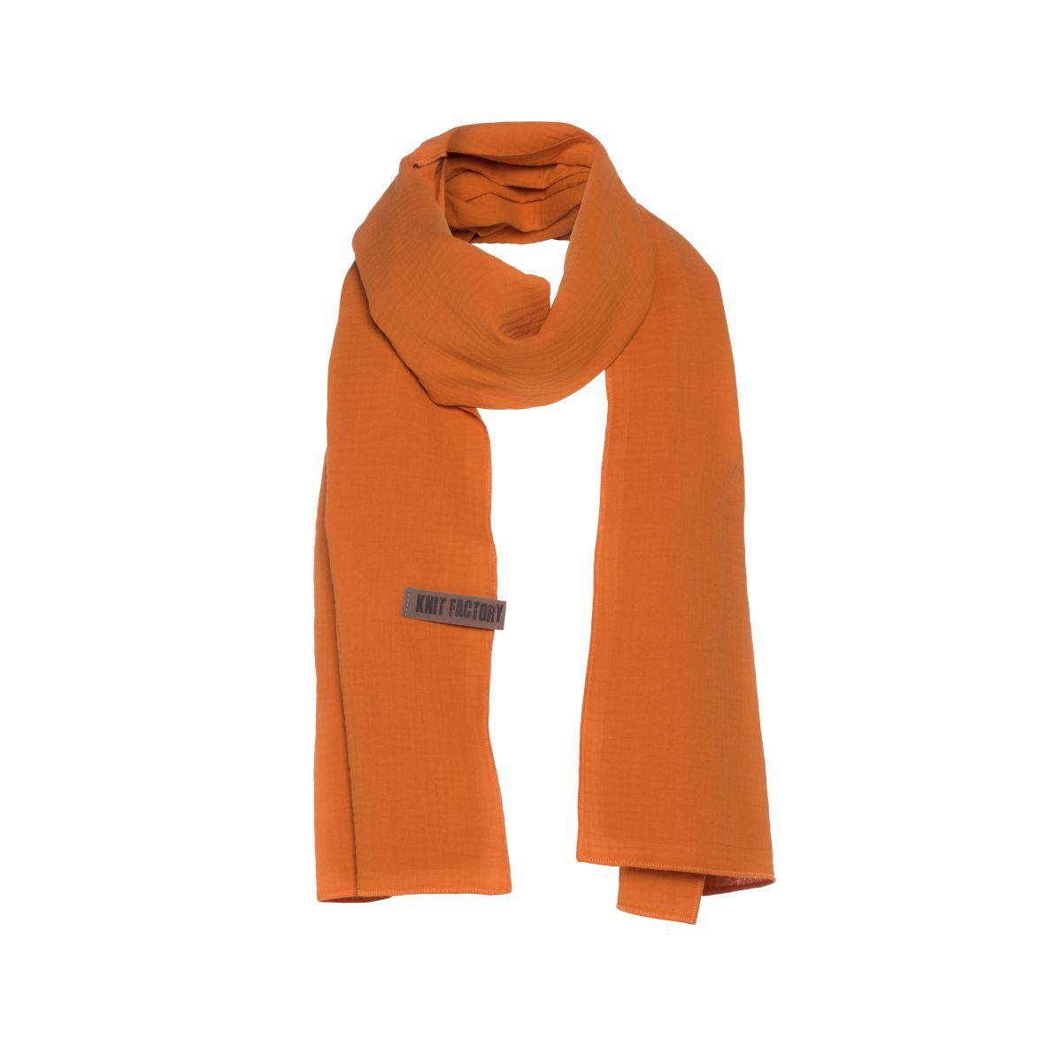 liv scarf rust