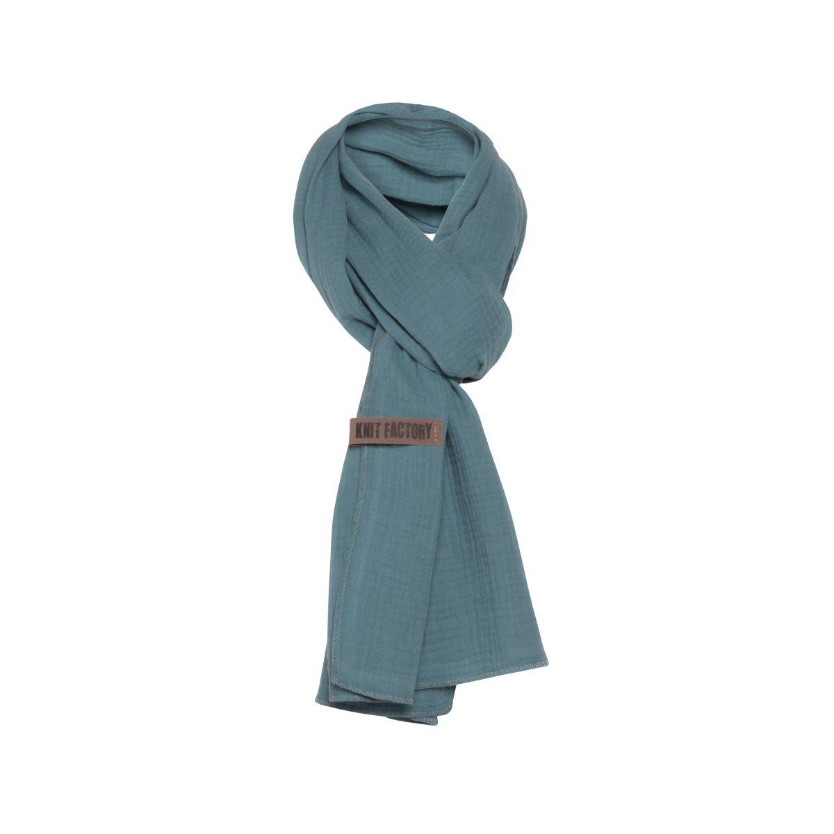 liv scarf stone green