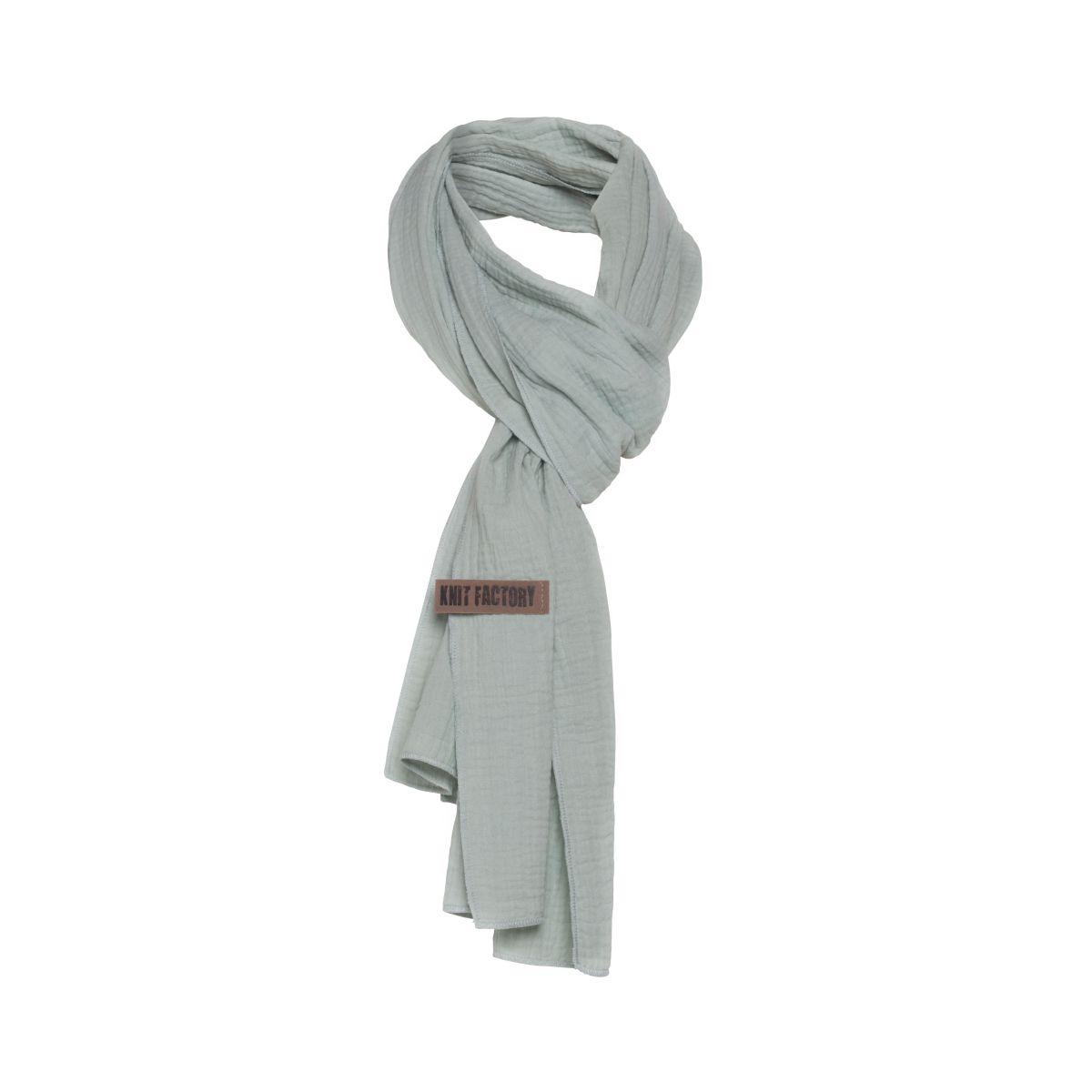 liv scarf vintage green