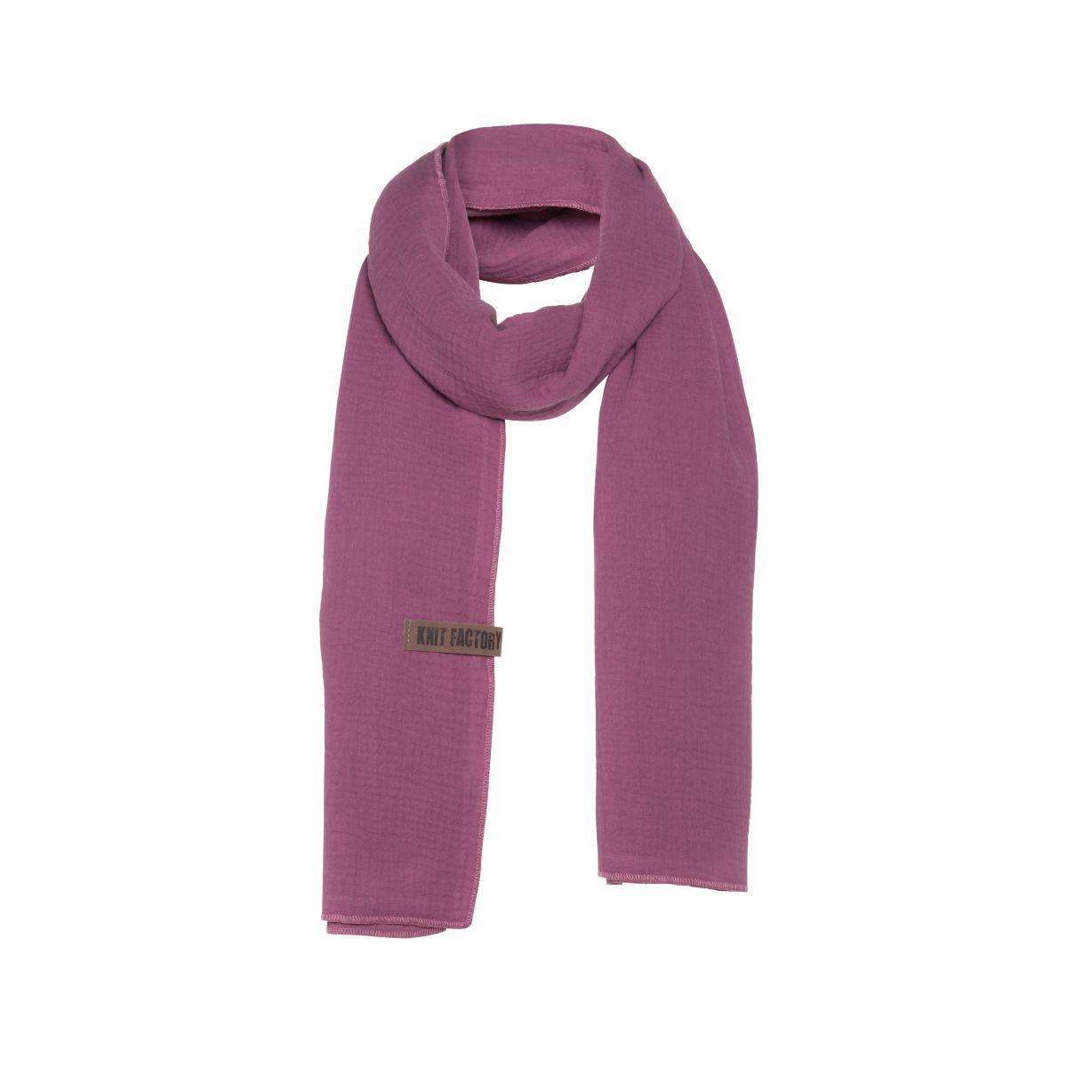 liv scarf violet