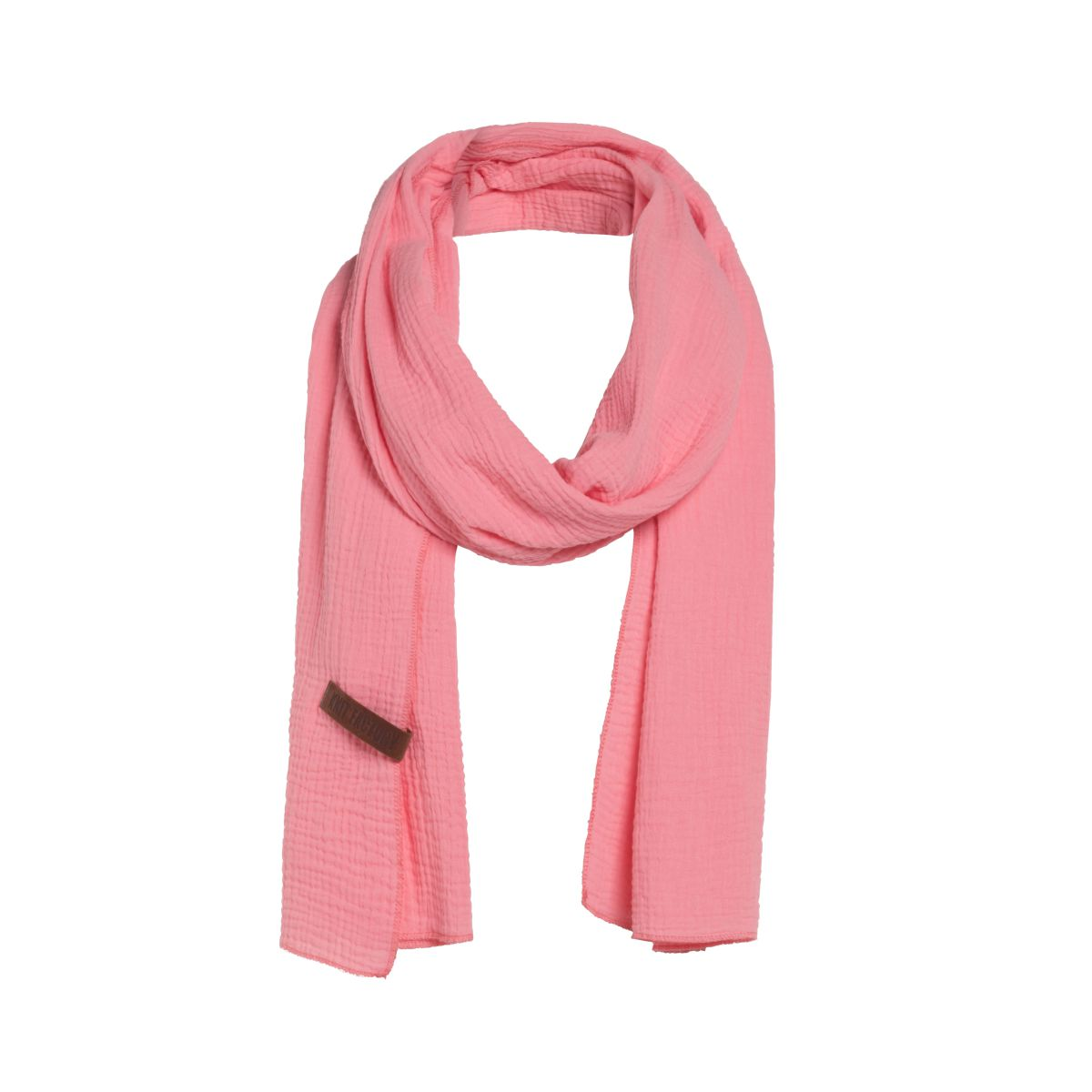 knit factory 1286531 liv sjaal coral 1