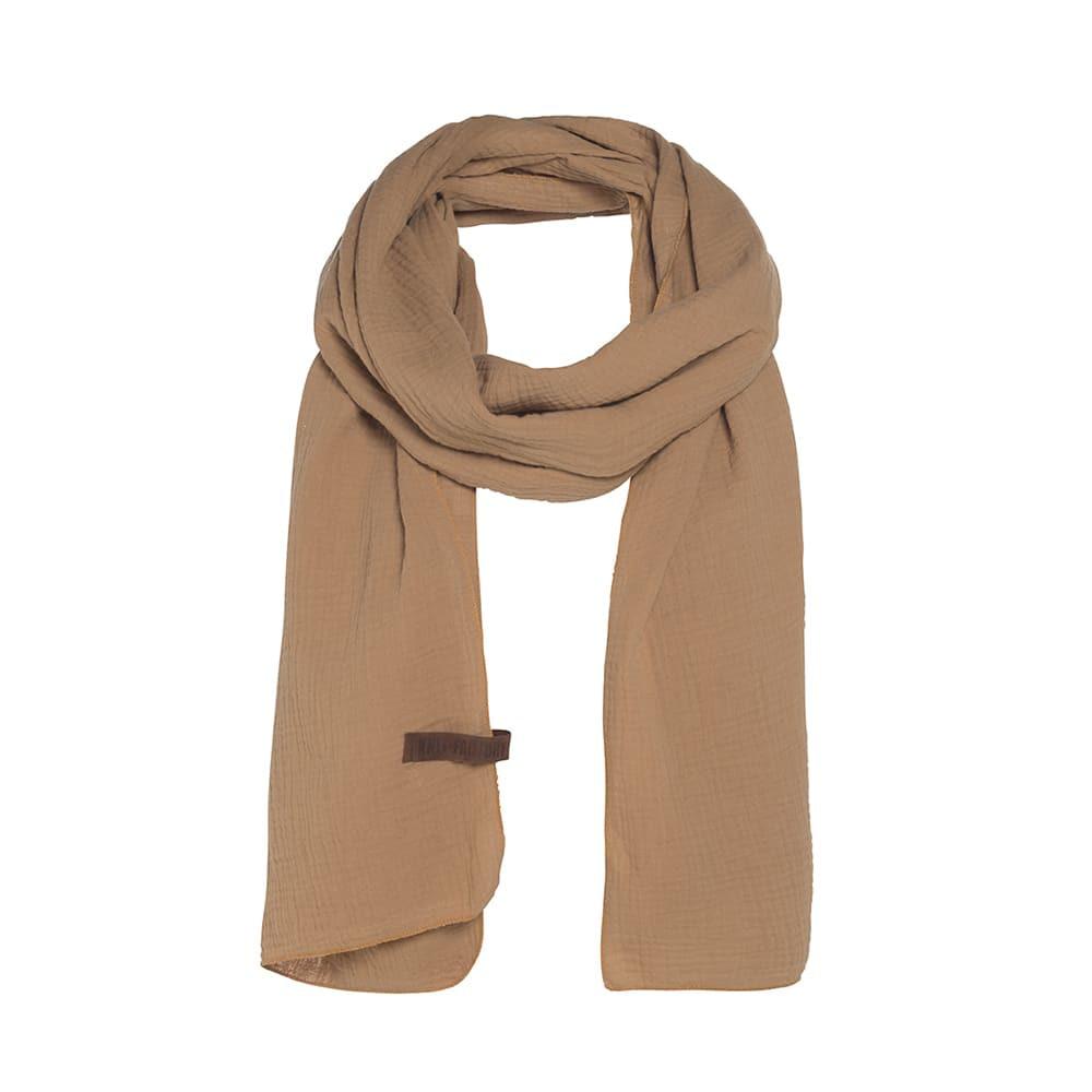 knit factory 1286520 liv sjaal new camel 1