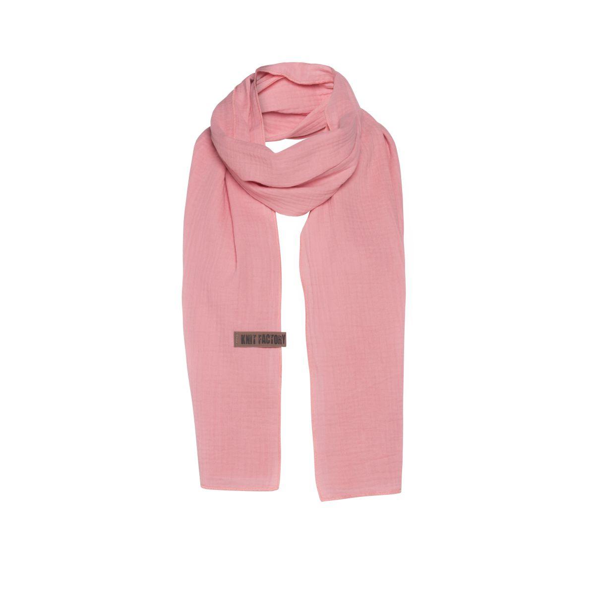 knit factory 1286521 liv sjaal roze 1
