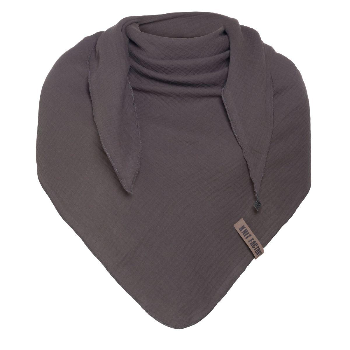 liv triangle scarf anthracite