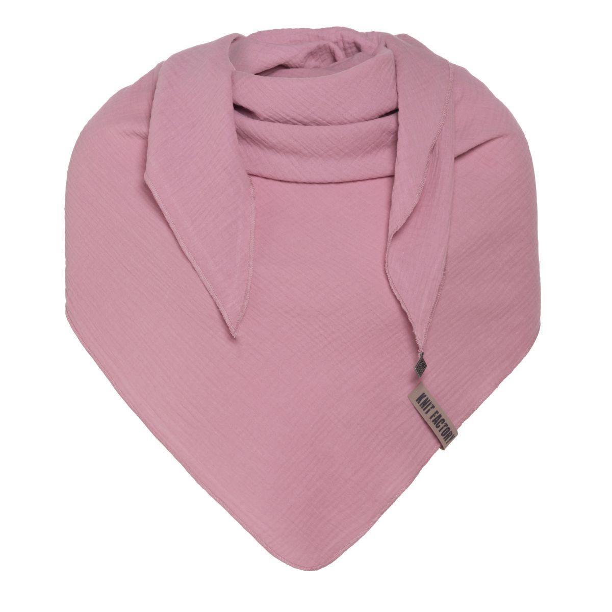 liv triangle scarf lilac