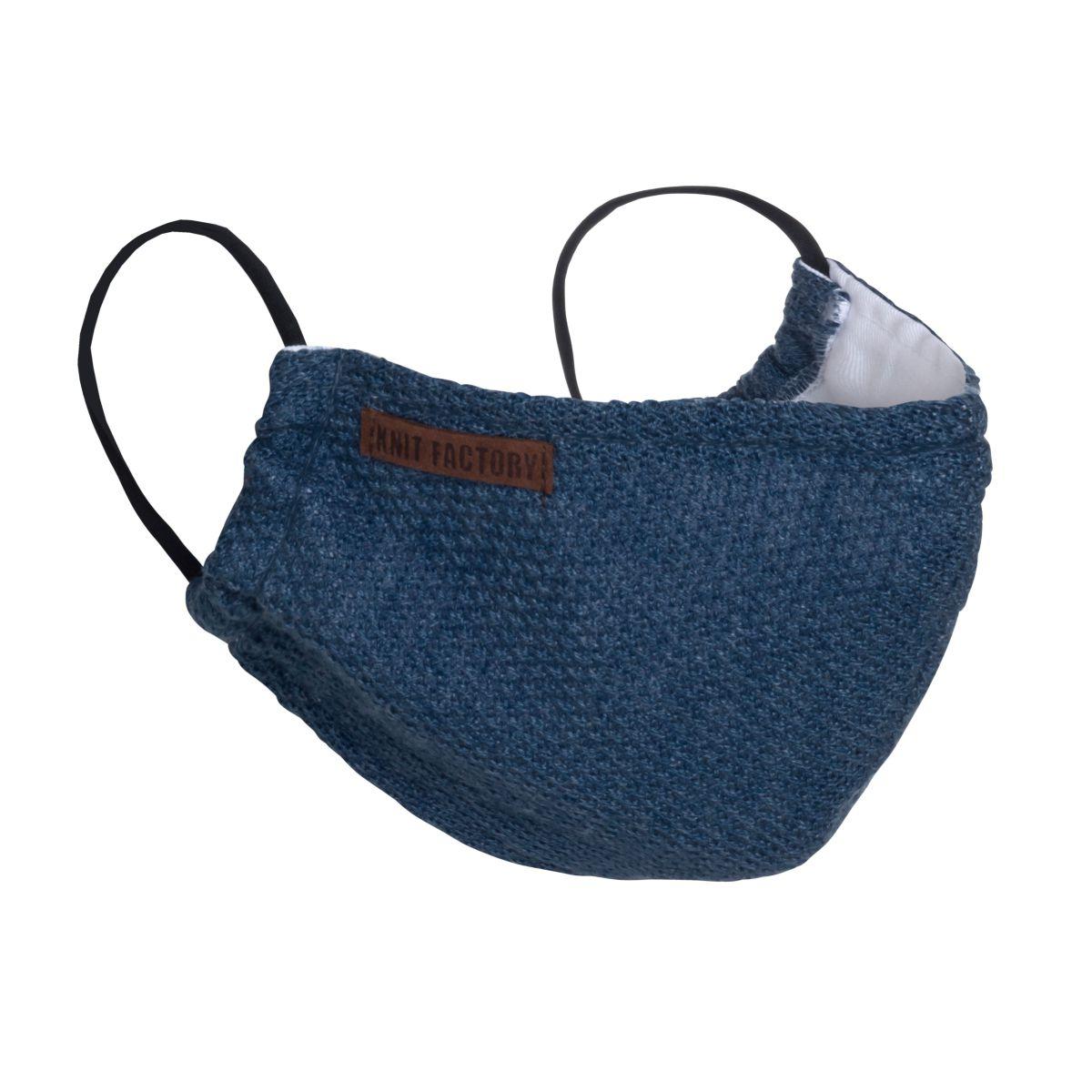 knit factory kf13010501350 lola mondmasker jeans 1