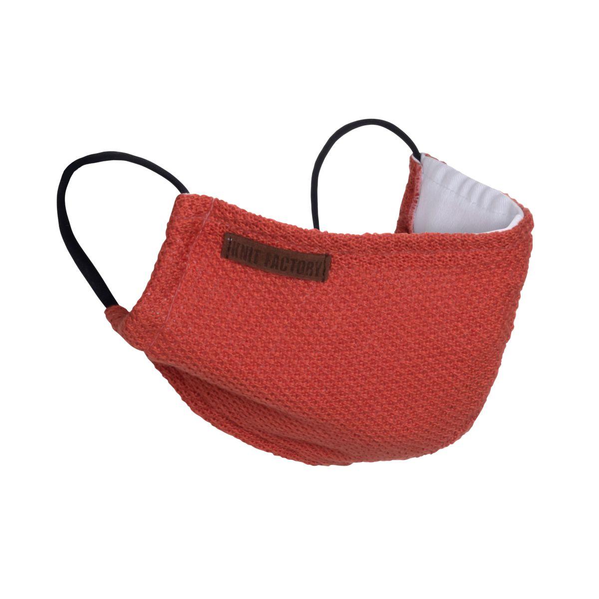 knit factory kf13010501650 lola mondmasker terra 1