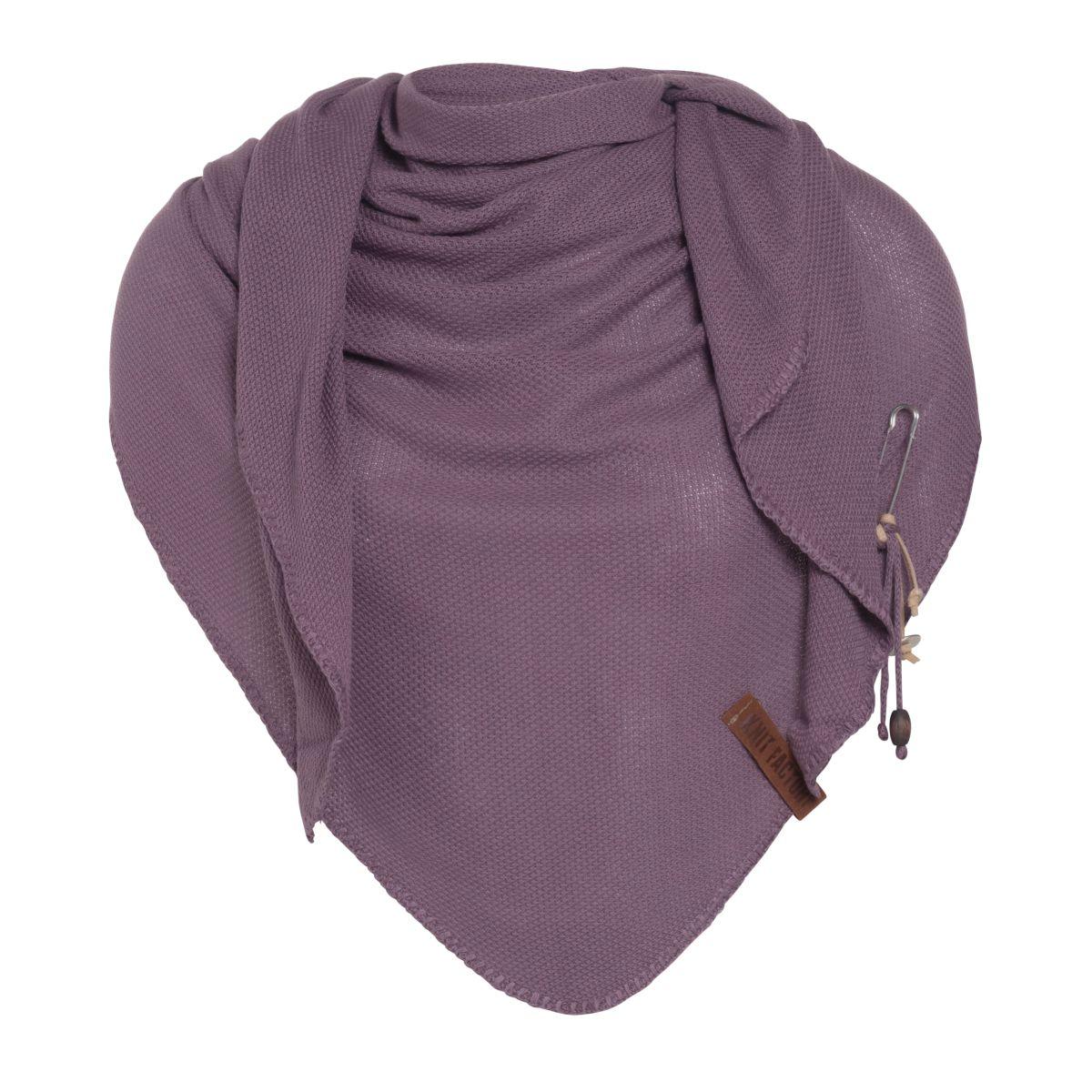 knit factory kf130060027 lola omslagdoek lila 1