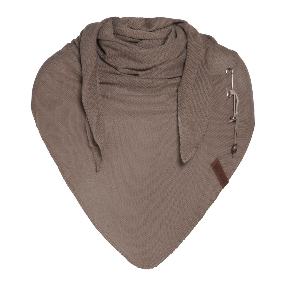 knit factory 1306020 lola omslagdoek new camel1