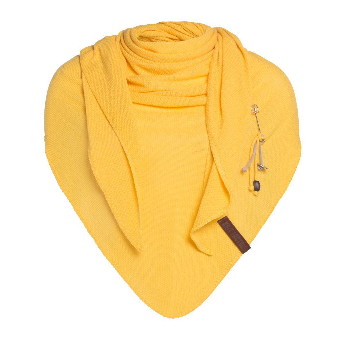 lola triangle scarf citrus