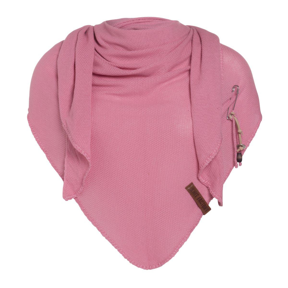 lola triangle scarf coral